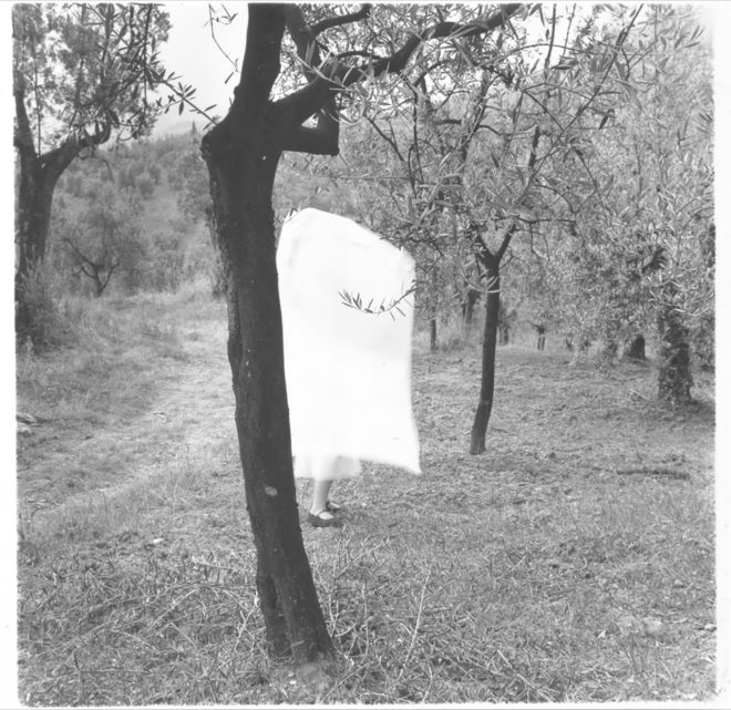 Francesca Woodman, From several cloudy days, Italy, 1977–1978