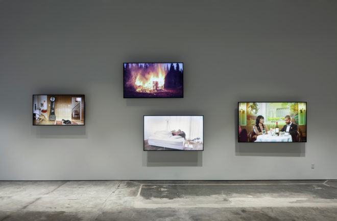 Scenes from Western Culture installation view.