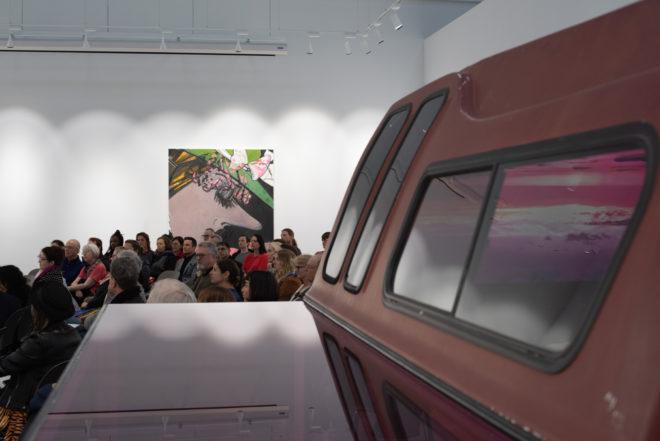 Artists' Talk: Ellen Berkenblit and Sarah Braman. Photo: Ryan Molnar