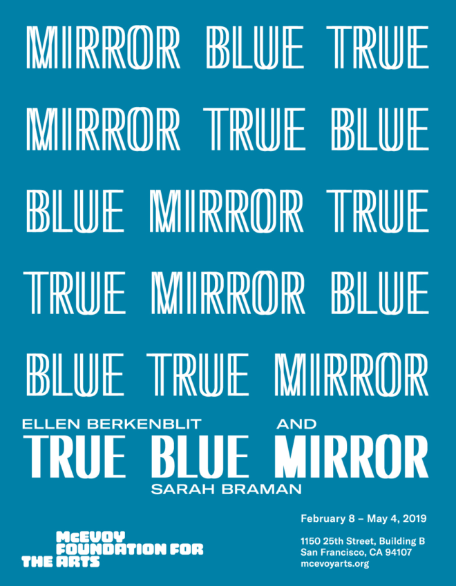 True Blue Mirror Illustration by Jon Sueda