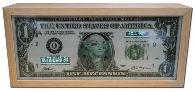 Enrique Chagoya, One Recession Watchdog (Instant Update), 2011