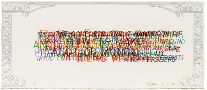 Allen Ruppersberg, How To Make A Good Print (State II) #1–8, 1996