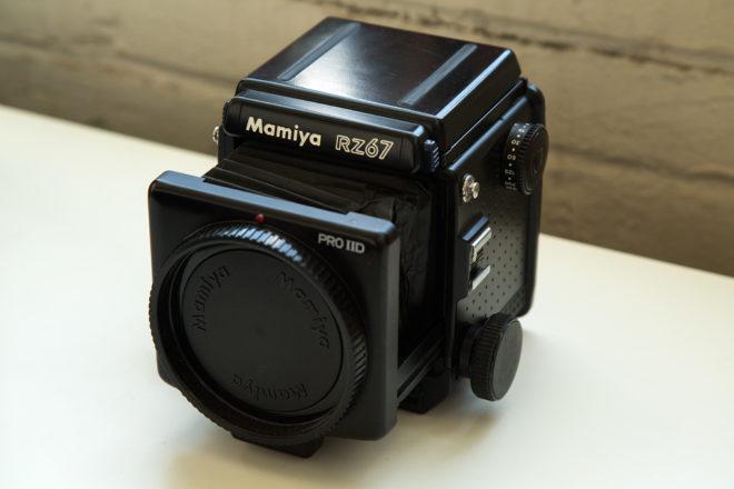 Hank Willis Thomas Mamiya RZ67 Professional IID camera body, ca. 2004