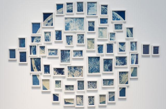 Ala Ebtekar, Thirty-six Views of the Moon, 2018