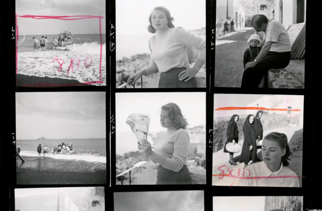 Gordon Parks, Ingrid Bergman at Stromboli, Stromboli, Italy, 1949