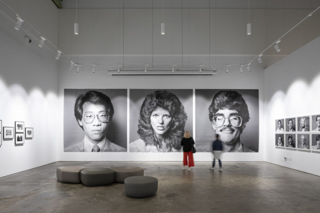 Installation view, Michael Jang's California (September 27, 2019 – January 18, 2020), McEvoy Foundation for the Arts, San Francisco. Photo: Henrik Kam