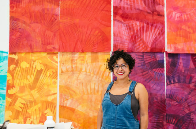 Artist Favianna Rodriguez. Photo: Mark Poucher