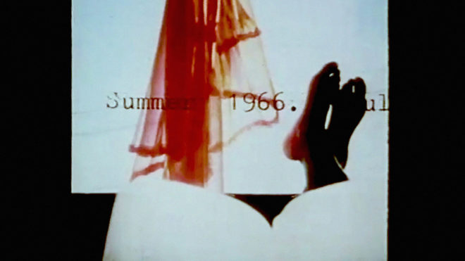 Cauleen Smith Chronicles of a Lying Spirit (by Kelly Gabron), 1992 Color, sound, 6 min.