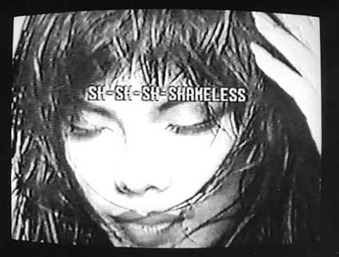 Valerie Soe Picturing Oriental Girls: A [RE] Educational Videotape, 1992 Black-and-white, sound, 15 min.