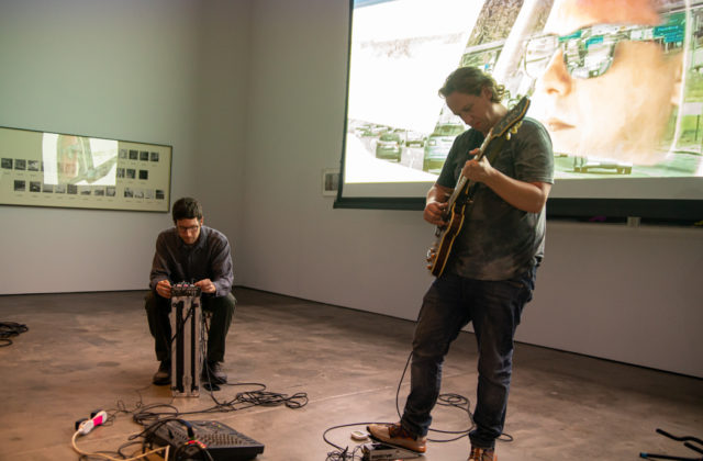 No Age performs at the McEvoy Foundation for the Arts in San Francisco on Sept. 7, 2019. Photos: Gary Chancer.