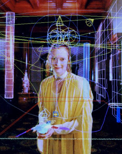 Tilda Swinton in Conceiving Ada (2000) by Lynn Hershman Leeson. Courtesy Hotwire
