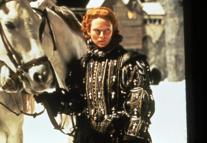Tilda Swinton in Orlando (1992), directed by Sally Potter. Courtesy of Sony Pictures Classics