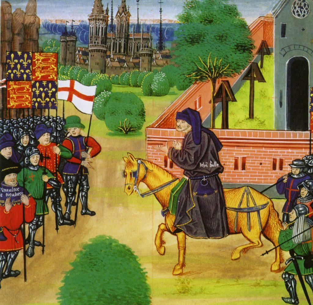 The English peasants' revolt of 1381. Photograph: Pictorial Press Ltd/Alamy