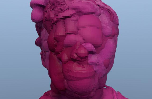 Zach Blas, Facial Weaponization Communiqué: Fag Face (still), 2012. Courtesy the artist