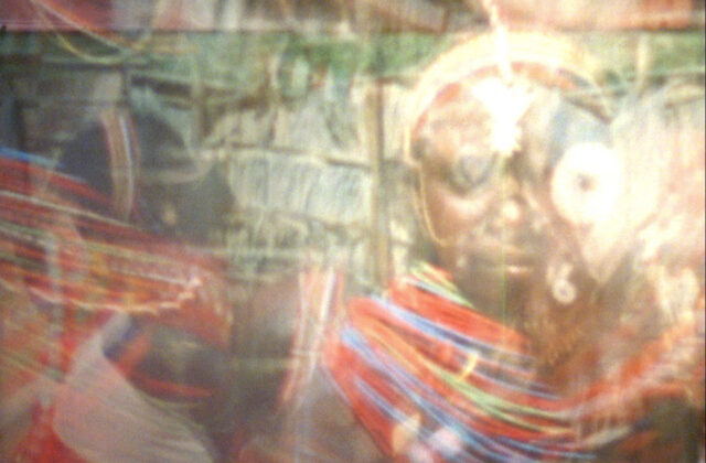 Christopher Harris, Halimuhfack (still), 2016, 16mm-to-HD, color, sound, 4 mins. Courtesy the artist