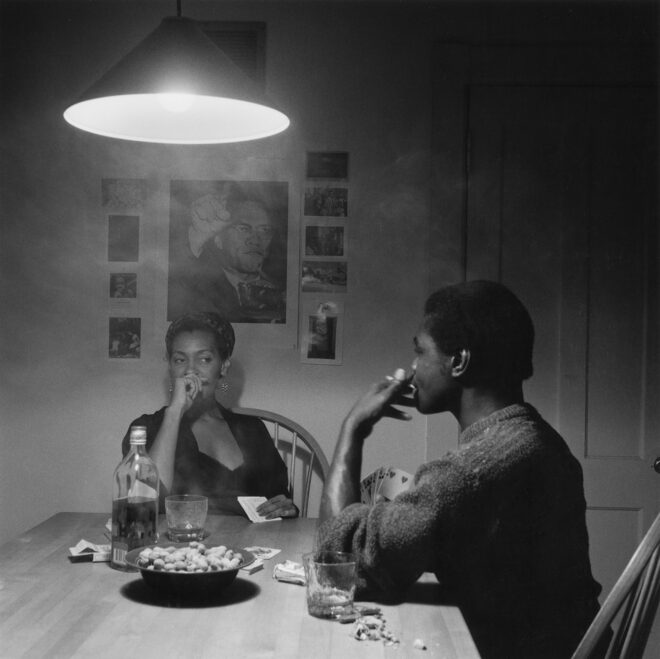 Carrie Mae Weems Untitled (man smoking), 1990 Gelatin silver print McEvoy Family Collection © Carrie Mae Weems. Courtesy of the artist and Jack Shainman Gallery, New York.