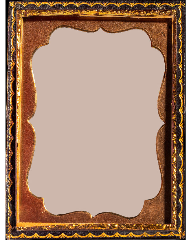 A vintage frame photographed by Erica Deeman, included as a poster in the In Our Likeness Mobile MakeArt Kits. Courtesy of the artist