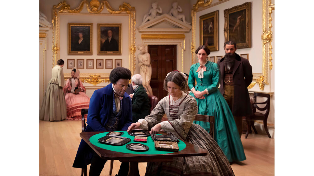 Isaac Julien* J.P. Ball Salon 1867 (Lessons of The Hour), 2019 Digital print on Gloss inkjet paper mounted on aluminum Courtesy of the artist, Jessica Silverman, San Francisco, and Victoria Miro, London/Venice