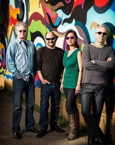 Kronos Quartet. From left: David Harrington, John Sherba, Sunny Yang, and Hank Dutt. Photo by Jay Blakesberg. Courtesy of the Kronos Performing Arts Association