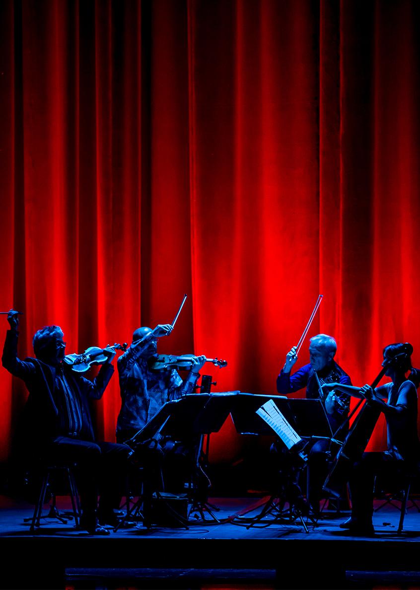 Kronos Quartet, Las Vegas,2013. Photo: Erik Kabik