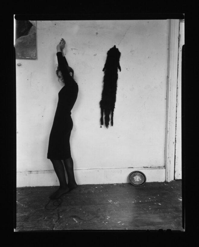 Francesca Woodman, Untitled, New York, 1979–80, estate gelatin silver print. McEvoy Family Collection. © 2021 Woodman Family Foundation / Artists Rights Society (ARS), New York